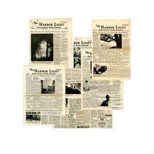 The Harbor Light Vintage Newspaper '69-71