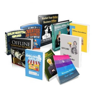 Offline Marketing Product Pack